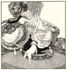 Franz von Bayros - Erzahlungen am Toilettentische, Die Sonnenuhr