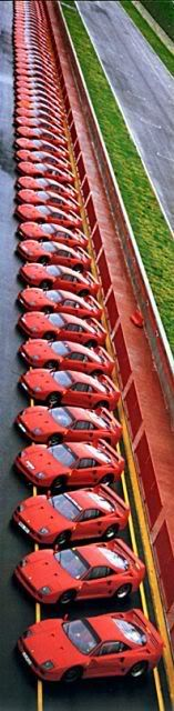 Ferrari F40 - so, what color would you like? May we suggest red?