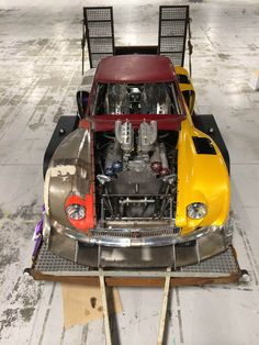 MGB GT3 with a twin-turbo Rover/Lotus V8