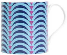 Jonathan Adler - Carnaby Arches Mug - Blue & Purple
