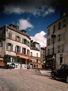 photos couleurs de paris en 1939 avant seconde guerre mondiale montmartre…