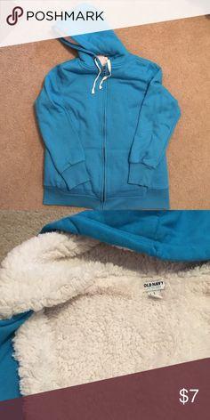 Old navy zip up Very cozy zip up hoodie gently worn. Old Navy Tops Sweatshirts & Hoodies