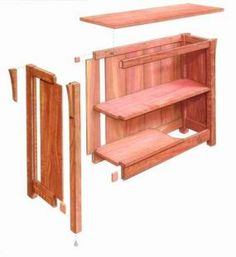 Free Plan: Arts and Crafts bookcase - Fine Woodworking