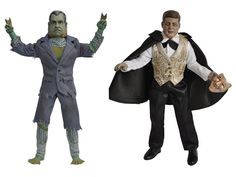 "Presidential Monsters 8"" Figure Series 02 - Set of 3 - Presidential Monsters Figures  1. Monster of the watergate lagoon  2.phantom of the white house  3. zom-bush"