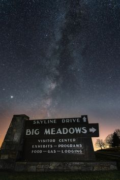 Skyline drive, Virginia and the Milky Way Space Pics, Milky Way, Virginia, Skyline