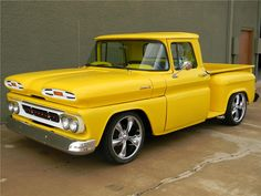 Chevrolet Custom Pickup 1961.