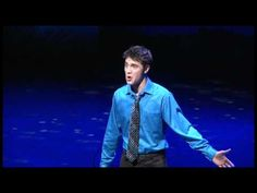 "2011 Jimmy Awards Winner Ryan McCartan singing ""Someone to Fall Back On"" by Jason Robert Brown. Check this out, this man is FANTASTIC!"