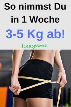 How to lose kg in 1 week! So nimmst Du in 1 Woche Kg ab! This article is for everyone who either has an important event in front of them, who wants to lose weight quickly, or who is on the start of a diet and simply does not want to wait […] Best Weight Loss, Weight Loss Tips, Fitness Inspiration, Latte, Comidas Fitness, Fitness Motivation, Fitness Goals, Aerobics Workout, Lose Weight Naturally