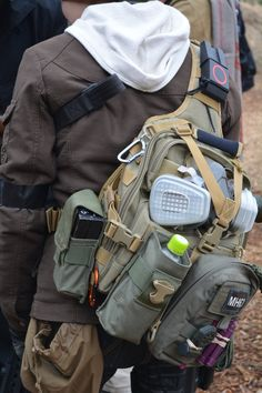 Tactical Backpack, Tactical Gear, Sling Backpack, Camping Survival, Survival Gear, Emergency Response Team, Bug Out Bag, North Face Backpack, Airsoft