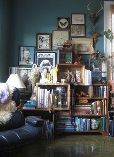 Bookshelves - home office - other metro - Jessica Espey