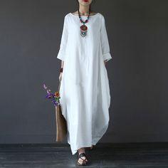 Купить товарХлопок белье плюс Размеры платья для женщин 3XL 4XL 5XL свободные платья макси белый красные, синие с длинным рукавом Boho Длинные платья oversize 2017 в категории Платьяна AliExpress. Хлопок белье плюс Размеры платья для женщин 3XL 4XL 5XL свободные платья макси белый красные, синие с длинным рукавом Boho Длинные платья oversize 2017