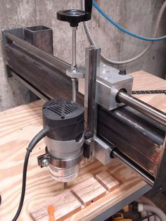 Radial Arm Router #1: Home made - by Mork @ LumberJocks.com ~ woodworking community