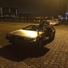 The Future is here #DeLorean #dmc12 #sat1frühstücksfernsehen