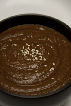 Homemade mole sauce