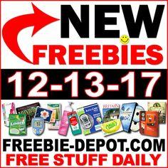 ►► Top Freebies for December 13, 2017 ►► #BestFreebies, #Free, #FREESample, #FREEStuff, #Freebie, #Frugal, #FrugalLiving, #HOTLIST, #Samples, #TopFreebies ►► Freebie Depot
