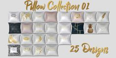 Pillow Collection 01 at MSQ Sims • Sims 4 Updates