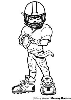 Football Coloring Pages & Sheets for Kids | Pinterest | Bowls, Craft ...