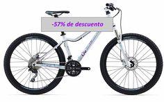 Super oferta!!! - VISTO EN EL BUSCADOR de CoreBicycle -     Bicicleta Liv Tempt 2 de MTB de mujer al 57% - aprox.378€     http://www.corebicycle.com/buscador/directorio/bicicletas/bicicletas-mtb-rigidas-dobles-dirt-enduro-dh/giant/bicicleta-de-montana-de-mujer-liv-tempt-1-2-3-4-1331