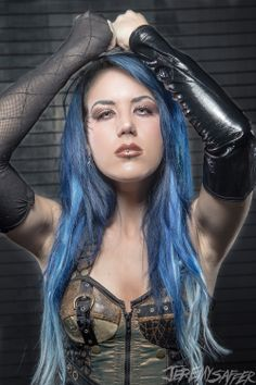 Alyssa White - Gluz. New singer of Arch Enemy.