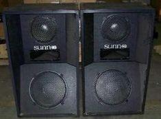 Sunn speakers.