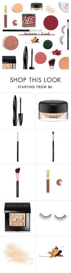 """Autumn Look"" by giogiota ❤ liked on Polyvore featuring beauty, Lancôme, MAC Cosmetics, Morphe, Bobbi Brown Cosmetics, tarte and Eve Lom"