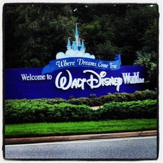 Walt Disney World Entrance in Lake Buena Vista, FL