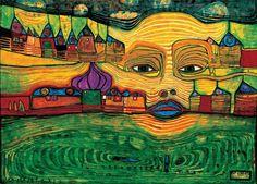 hundertwasser   Hundertwasser Paintings
