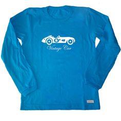 Remera Auto antiguo de jersey de algodón-niño-ropa para chicos y bebes