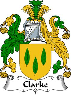 IrishGathering - The Clarke Clan Coat of Arms (Family Crest) and ...