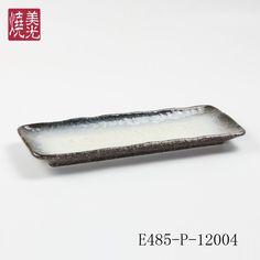 Japanese restaurant dinnerware&porcelain dinner plate E485-P-12004 Size: 12 inch