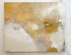 New 100x120cm canvas #abstract #colour #sunshine #art #structure #studio #seaside