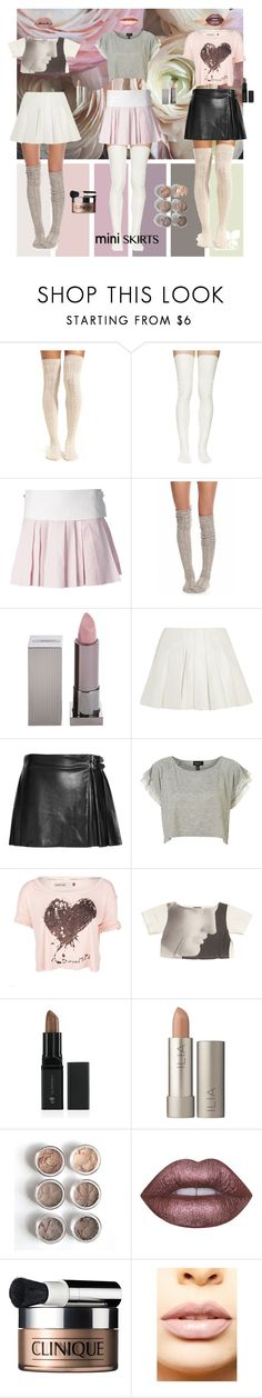 """""""Mini Me"""" by verysmallgoddess ❤ liked on Polyvore featuring Lemon, Sacai Luck, Alexander Wang, Free People, Lipstick Queen, McQ by Alexander McQueen, Opening Ceremony, Ilia, Lime Crime and Clinique"""
