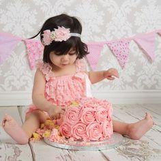 Cake Smash and Tub Splash photos