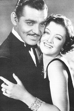 Clark Gable & Myrna Loy ♥