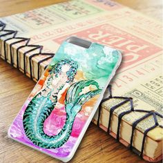 Abtract Art Mermaids Colorful iPhone 6 Plus|iPhone 6S Plus Case