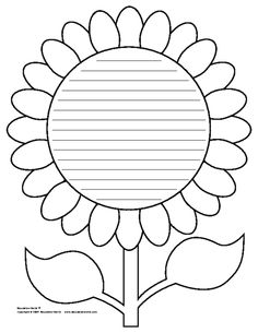 Education World: Flower Shapebook (Lined) Template Education World: Flower Shapebook (Lined) Template The post Education World: Flower Shapebook (Lined) Template appeared first on Paper Diy. Sunflower Template, Leaf Template, Sunflower Pattern, Crown Template, Diy Paper, Paper Crafts, Education World, Kindergarten Writing, Colouring Pages