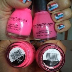 Sinful Colors 24/7 old vs new