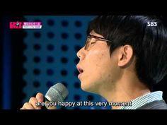Jung Seung-Hwan (정승환) - I Want to Fall in Love (사랑에 빠지고 싶다) @ KPOP Star Season 4 [Eng Sub] - YouTube (Original Singer : Kim Jo Han)