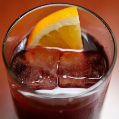 Malena Cocktail - Rye whiskey, Campari and sweet port join forces in this delicious sipper.
