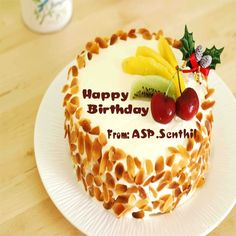 Cake Images With Name Anshu : Happy Birthday Cake For My Girlfriend With Name Edit aj ...