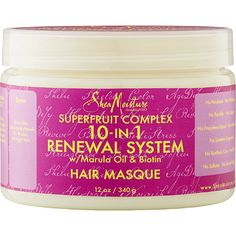 SheaMoistureSuperfruit Masque has saved my thick, dry, damaged, and colored hair. I highly recommend this product to anyone who has the same problem I do.