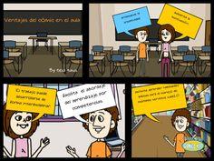Teia Baus Roset - Google+ - Comics Head! #iOs #app #educación #pedagogiamovil