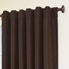 Eclipse Owen Blackout Thermal Window Panel Coffee Colored