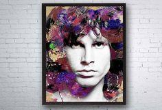 Jim Morrison The Doors Jim Morrison Face Jim Morrison Art