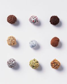 With the addition of coconut oil and a topping of sweetened shredded coconut, our Classic Truffles are transformed into a tropical-flavored treat.
