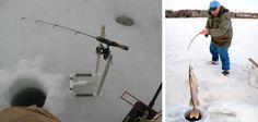 Enjoy your ice fishing with amazing fishing rods Ice Fishing Rods, Amazing