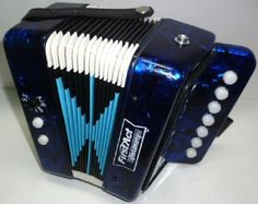 First Act ACCORDION Squeezebox Toy Kids Youth Musical Instrument Pearlized Blue #firstActDiscovery