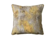 Mood Ochre Cushion, Sale £29