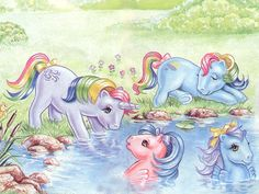My Little Pony Vintage... The feels when they only used the show just to sell to toys!!!