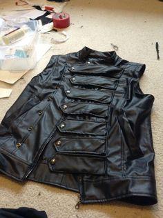 Bucky Barnes/Winter Soldier vest 2 by TimeyWimey-007